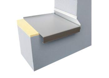 Metallbaufertigteile f r die fassade l sungen aus einer hand krebu metallfensterb nke ag - Blech fensterbank montage ...